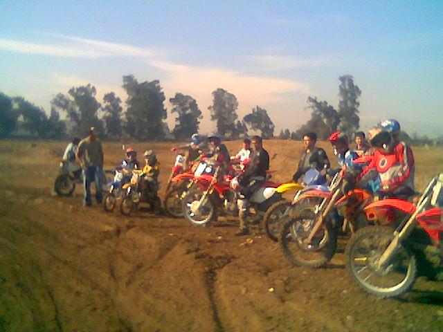 Clinica de Motocross en La Divisa
