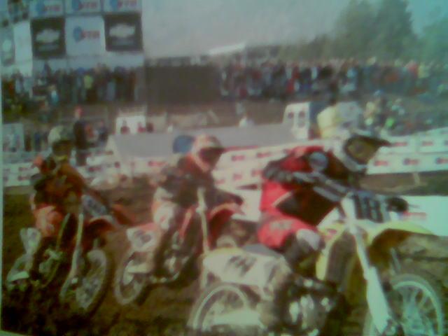 Publicacion revista Velocidad Extrema - foto de Curauma 3a. fecha Nacional de Motocross 2007