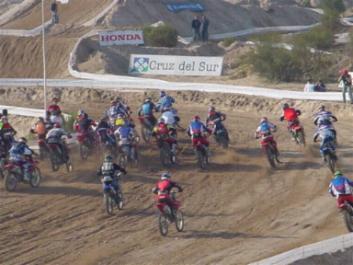 Acá la largada en Laguna Carén, 1ª fecha del Campeonato Nacional Chileno 2004.